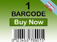 Buy 1 Barcode
